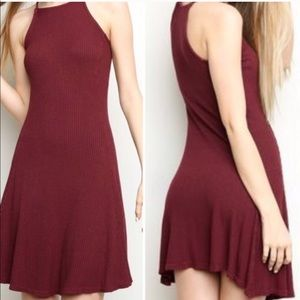 Brandy Melville ribbed mini dress